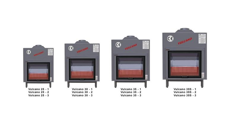Vulcano termocamini giansanti forni forni a legna e for Vulcano termocamini pellet